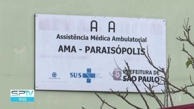 AMA Paraisópolis fecha após ação de bandidos que levaram médica e enfermeiro - Dois homens armados entraram na AMA e levaram a médica e o enfermeiro para atender uma terceira pessoa na comunidade.