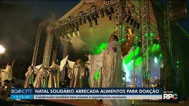 Missa, shows musicais e muita solidariedade fazem parte do Natal Solidário - Padre Reginaldo Manzotti e Fagner encerram a noite de festa no Centro Cívico.