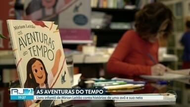Livro infantil de Mirian Leitão conta histórias de uma avó e sua neta - As histórias de uma neta e a avó estão no livro infantil da escritora e jornalista Mirian Leitão. O lançamento foi na tarde desta tarde deste sábado (14).