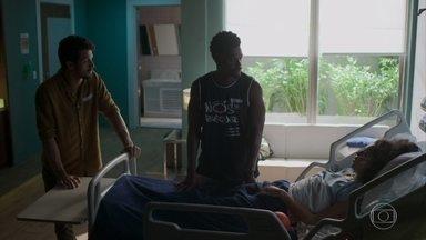 Ramon visita Gabriela no hospital e Marcos vai para casa de Paloma - undefined