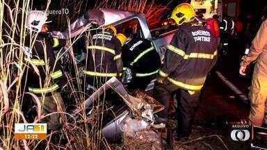 Em 2019, dez pessoas morreram nas 3 principais rodovias de acesso a Palmas - Em 2019, dez pessoas morreram nas 3 principais rodovias de acesso a Palmas