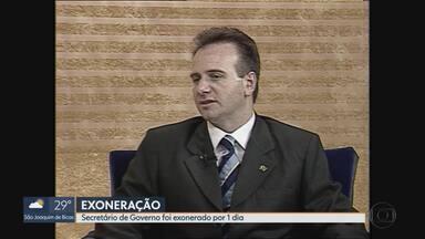 Governo exonera secretário Olavo Bilac por um dia - Assessoria afirma que ele volta ao cargo na quarta-feira (18/12) e que ele vai a Brasília tratar de assuntos partidários.