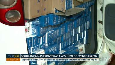 Cigarro é o principal produto contrabandeado e apreendido no país - Segundo o Ibope, 57% de todos os cigarros que circulam no Brasil são ilegais.