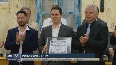 EPTV é homenageada na Câmara Municipal de Varginha pelos 40 anos - EPTV é homenageada na Câmara Municipal de Varginha pelos 40 anos