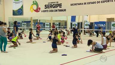 Intercâmbio de ginástica promove troca de experiências entre atletas de todo país - Intercâmbio de ginástica promove troca de experiências entre atletas de todo país