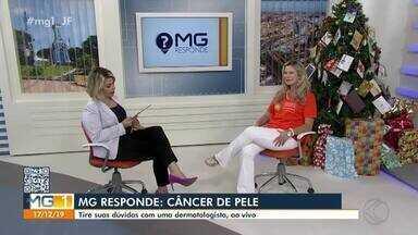 MG Responde: Especialista de Juiz de Fora fala sobre câncer de pele - Neste mês, a Sociedade Brasileira de Dermatologia promove o Dezembro Laranja. A ação faz parte da Campanha Nacional de Prevenção ao Câncer da Pele.
