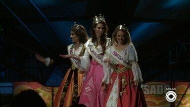 Festa da Uva prorroga inscrições para princesas e rainha - Prazo passa a ser dia 06 de março.