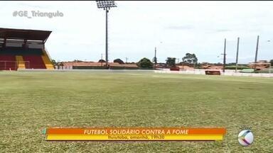 Ituiutaba recebe 11ª edição do jogo solidário com Sidney Moraes e Enzo Rabelo nesta quarta - Jogo será no estádio da Fazendinha