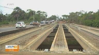 Em Macapá, obras na rodovia Duca Serra entram em nova fase - Em Macapá, obras na rodovia Duca Serra entram em nova fase