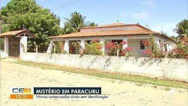 Vítimas carbonizadas em Paracuru ainda sem identificação - Saiba mais no g1.com.br/ce