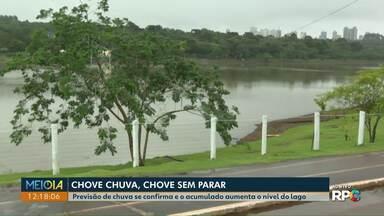 Sanepar cancela alerta de rodízio no abastecimento de água em Cascavel após três meses - Previsão de chuva da última semana para cidade se confirmou e o acumulado aumenta o nível do Lago Municipal.