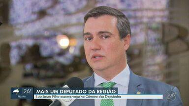 Luiz Lauro Filho assume cadeira na Câmara e região de Campinas tem mais um deputado - Parlamentar era suplente e tomou posse nesta terça-feira (17), após a licença do deputado Jefferson Campos (PSDB). Região agora tem seis deputados na Casa.