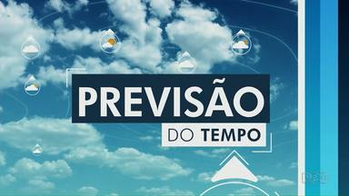 Tempo segue instável na região dos Campos Gerais - A frente fria se afasta, mas o tempo fica encoberto nesta quarta-feira (18).