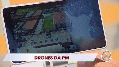 Polícia passa a monitorar cidades com drones - PM está apostando no uso da tecnologia para combater crimes na região.