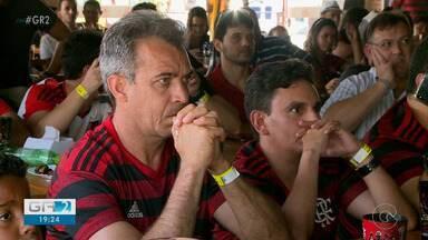 Torcedores do Flamengo lotam bares para acompanhar equipe no Mundial de Clubes - O time brasileiro venceu a partida por 3 a 1