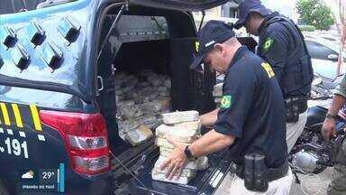PRF apreende pasta base escondida em caminhão na cidade de Picos - PRF apreende pasta base escondida em caminhão na cidade de Picos