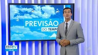Confira a previsão do tempo para Salvador e interior do estado na quarta-feira (18) - Previsão de pancadas de chuva em áreas isoladas das regiões oeste, sul e recôncavo baiano.
