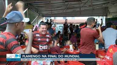 Torcedores em São Luís comemoram ida do Flamengo à final do Mundial de Clubes da FIFA - Rubro-negro venceu de virada o Al Hilal e agora aguarda o vencedor entre Monterrey e Liverpool.