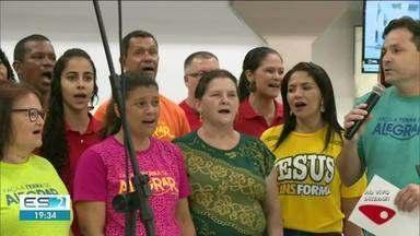 Linhares, ES, tem cantata de natal - Festa em homenagem ao menino Jesus.