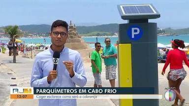 Coger esclarece como será a cobrança dos parquímetros em Cabo Frio, no RJ - Equipamentos são aqueles equipamentos que você pode pagar pelo estacionamento rotativo na cidade.