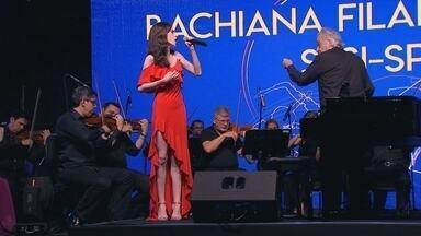 Moradores se emocionam com apresentação da orquestra Bachiana Filarmônica do Sesi - Moradores de São José do Rio Preto (SP) se emocionaram com apresentação da orquestra Bachiana Filarmônica do Sesi.