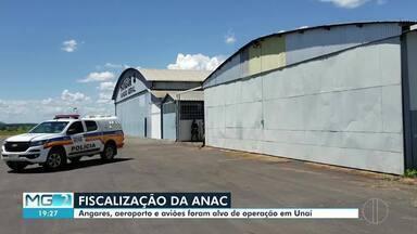 Angares, aeroporto e aviões foram alvo de operação em Unaí - Anac apura se aeroporto de Unaí estava funcionando normalmente apesar de ter deixado de existir legamente desde 2013.