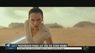 """'Em Cena': estreia nesta quinta (19) mais um episódio da saga Star Wars - """"A Ascensão SkyWalker"""" promete muitas novidades para os fãs."""