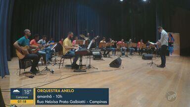 'Em Cartaz': Orquestra Anelo, Marcelo Marrom e Edson e Hudson em Campinas - Confira as atrações neste fim de semana nas cidades da região.