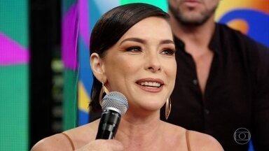 Regiane Alves comenta sua participação na 'Dança dos Famosos' - Confira!