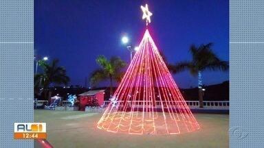 Telespectadores enviam fotos e vídeos da decoração de Natal - AL1 mostrou as decorações das casas de telespectadores.