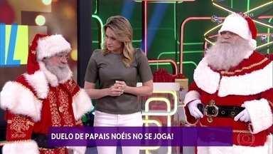 'ABC do Brasil' tem edição especial de Natal - Hoje tem duelo de Papai Noel