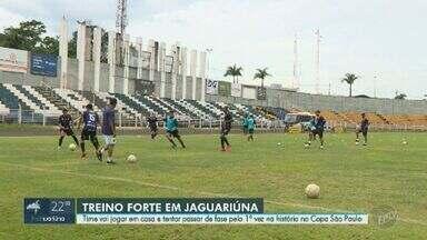 Jovens de Jaguariúna se preparam para disputar Copa São Paulo de Futebol Júnior - Com motivação de disputar competição em casa, molecada busca se destacar para alcançar guinada na carreira.