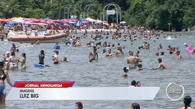 Turistas preparam para ceia de Natal no litoral - Em Caraguatatuba, hotéis e famílias estão na expectativa.