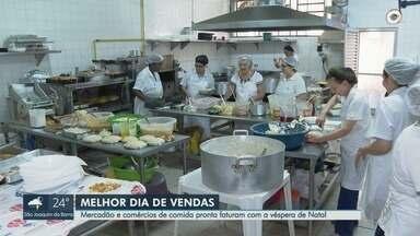 Mercado Municipal e supermercados faturam com vendas na véspera de Natal em Ribeirão Preto - Associação Paulista de Supermercados (Apas) aponta que vendas representam 10% do total comercializado em dezembro.