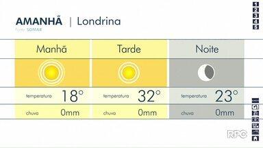 Natal será de tempo aberto no Paraná - Previsão aponta temperaturas altas e sem chuva para os próximos dias.