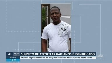 Polícia identifica motorista suspeito de atropelar casal de haitianos - Polícia identifica motorista suspeito de atropelar casal de haitianos; homem morreu e mulher segue internada após perder bebê