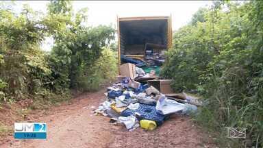 Caminhão dos Correios é assaltado na BR-010, em Açailândia - Já em Santa Inês, a PRF registrou um assalto e uma tentativa.