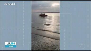 Adolescente morre afogado durante banho de rio na orla de Belém - Segundo testemunhas, o rapaz estava acompanhado de amigos em um porto próximo da rodovia Arthur Bernardes.