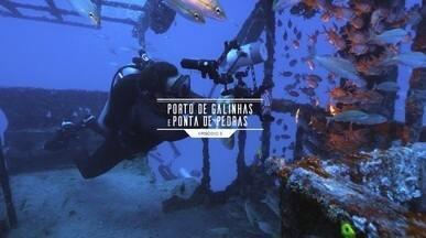 Episódio 3 - Doug Monteiro desbrava os naufrágios subaquáticos de Porto de Galinhas e Ponta de Pedras.
