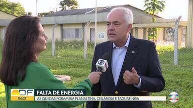 CEB dá explicações sobre queda de energia - Nos últimos dias, moradores de várias cidades tiveram problemas com interrupções no abastecimento.