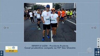 Atletas da região de Presidente Prudente participam da São Silvestre - Corrida acontece na capital paulista, nesta terça-feira (31).