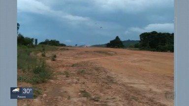 Anac diz que aeródromo de Monte Verde, em Camanducaia, não tinha permissão para funcionar - Acidente nesta quarta-feira (1º) deixou dois feridos no local