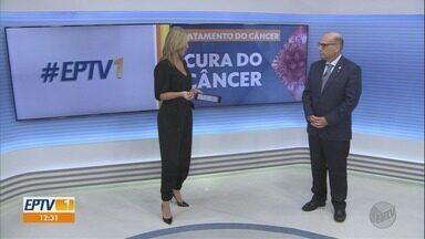 Médico comenta os avanços no tratamento do câncer em Ribeirão Preto, SP - Profissional do Hospital das Clínicas explicou futuros procedimentos.