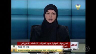 Hezbollah e Hamas fazem declarações contra ataque dos EUA - O aumento da possibilidade de novos conflitos fica claro nas declarações de grupos como o Hezbollah – que já prometeu continuar o mesmo caminho de Soleimani - e o Hamas que condenou o que chamou de 'crimes americanos contínuos'.