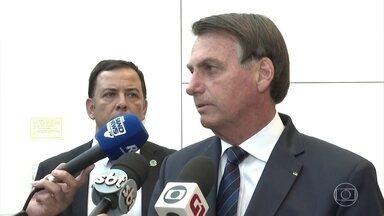 Bolsonaro demonstra preocupação com o preço dos combustíveis no Brasil - O presidente ficou sabendo do ataque americano no Iraque na noite desta quinta (2) e nesta sexta (3) falou duas vezes sobre o assunto.
