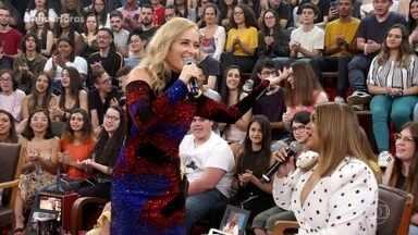 Angélica canta Vou de Táxi - Clássico é relembrado no palco do Altas Horas