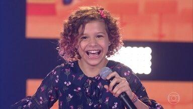 """Analu Sampaio canta """"Madalena"""" - Confira a avaliação dos técnicos e qual time a cantora escolheu"""