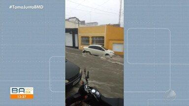 Confira a previsão do tempo para Salvador e interior do estado - Capital baiana e cidades do interior têm chuva forte.