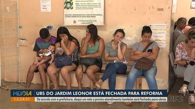 UBS do Jardim Leonor está fechada para reforma - De acordo com a prefeitura, daqui um mês o pronto atendimento também será fechado para obras.