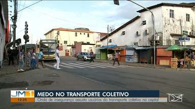 Usuários de transporte coletivo reclamam da insegurança em São Luís - Medo tem tomado conta de muitos usuários do transporte coletivo.